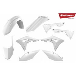 Honda CRF450R 17-18 White Plastic Kit