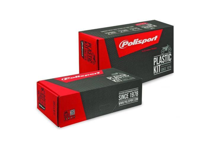 Polisport Honda CRF450R 17-18 Fluor Gele Plastic set