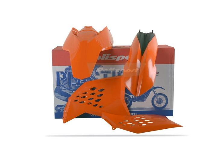 Polisport KTM 04 OEM  EXC/EXC-F 08-11 Plastic Kit