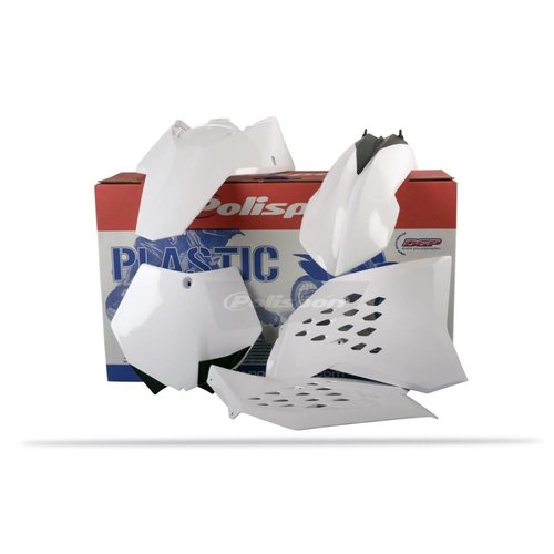 Polisport KTM SX-F250/450 07-10 Witte Plastic Kit