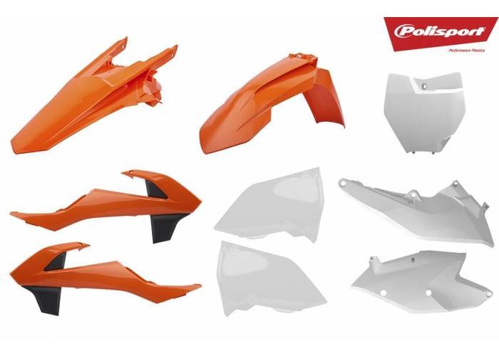 Polisport KTM SX250 17-18 OEM 18 Plastic Kit