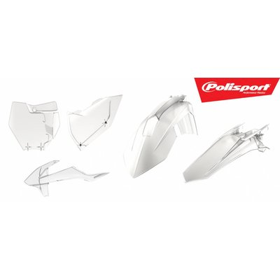 Polisport KTM SX - F 125/250/450 16-18 clear Plastic Kit