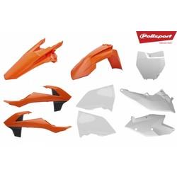 KTM EXC/EXC-F 17-18 OEM Plastic Kit