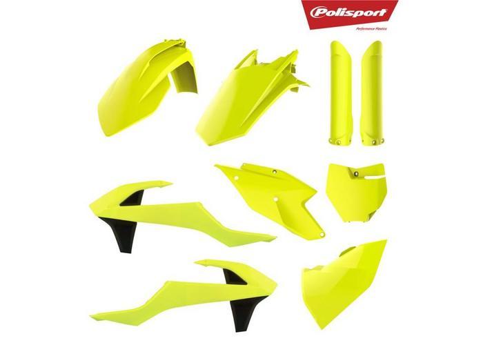 Polisport KTM SX-F250 16-18 Fluor Geel Plastic Kit