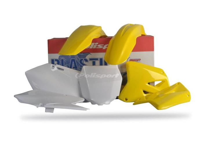 Polisport Suzuki RM125/250 01-08 OEM Style Plastic Kit