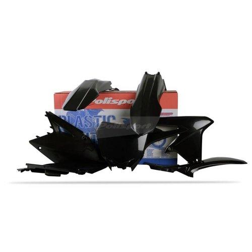 Polisport Suzuki RM-Z450 08-17 Zwarte Plastic Kit