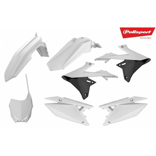 Polisport Suzuki RM-Z450 18 Witte Plastic Kit