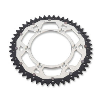Moose Racing DUAL REAR SPROCKET SUZUKI GREY