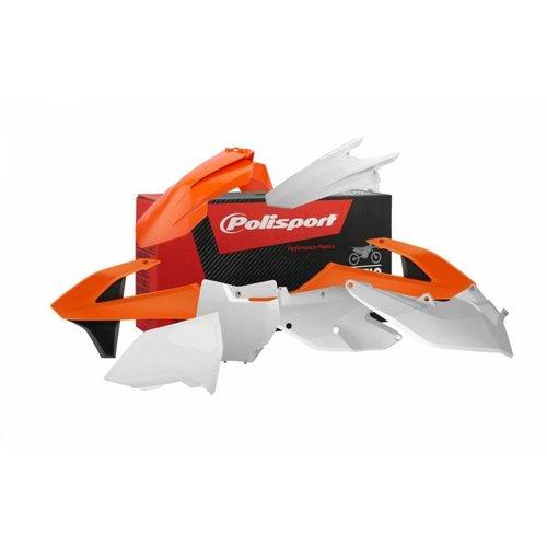 Polisport KTM SX-F 125-150-250-350-450 16-18 OEM 16 Plastic Kit
