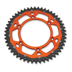 DUAL REAR SPROCKET KTM EXC/EXC-F ORANGE
