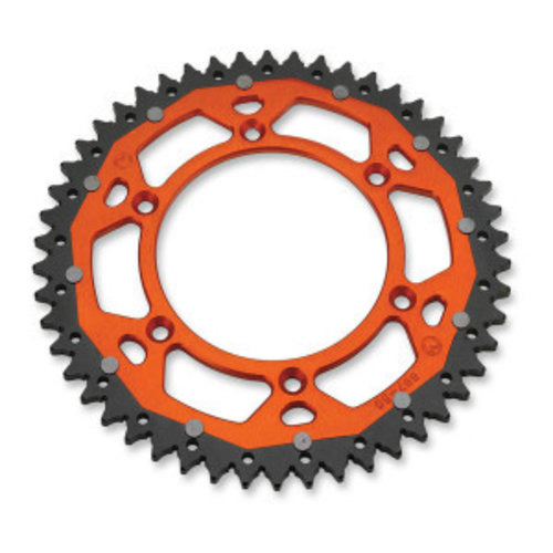 Moose Racing DUAL REAR SPROCKET KTM EXC/EXC-F ORANGE