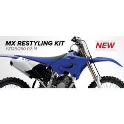 Yamaha Restyled 02-18 OEM Plastic Kit