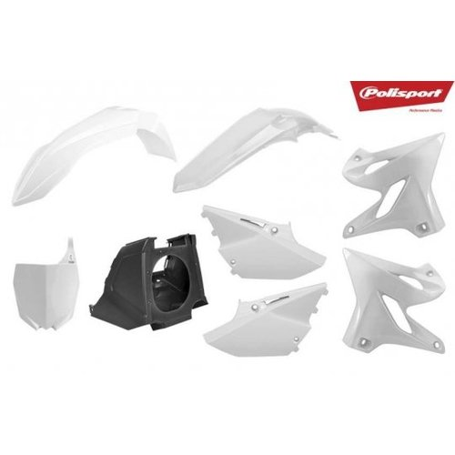 Polisport Yamaha Restyled 02-18 Witte Plastic Kit