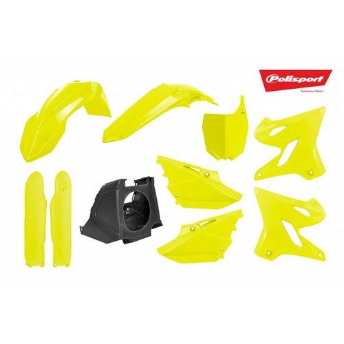 Polisport Yamaha Restyled 02-18 Fluor Geel Plastic Kit