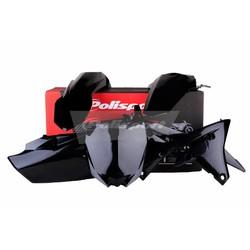 Yamaha YZ250F 14-18 Zwarte Plastic Kit