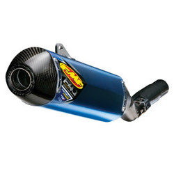 KTM 2007-2015 Factory 4.1 RCT Slip-On Muffler Titanium & Carbon Blue Anodized
