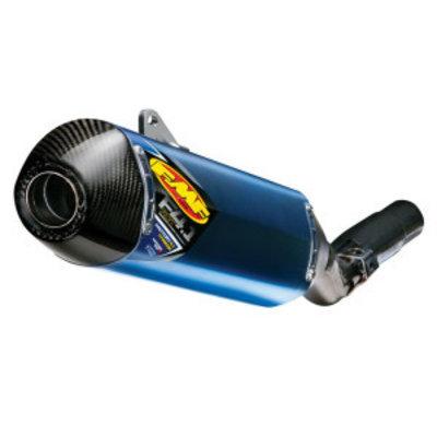 FMF KTM 2007-2015 Factory 4.1 RCT Slip-On Schalldämpfer Titanium & Carbon Blue Anodized
