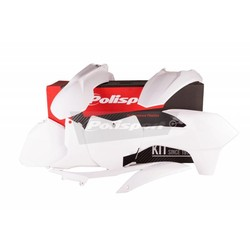 KTM SX250 13-14 Witte Plastic Kit