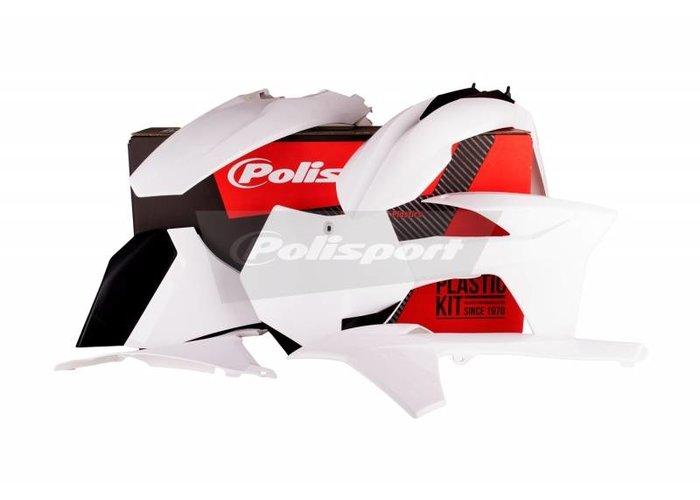 Polisport KTM SX250 11 Witte Plastic Kit