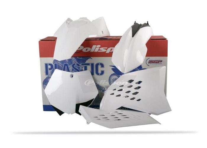 Polisport KTM SX250 Witte Plastic Kit