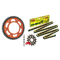 Chain/sprocketset Enduro 13/50 KTM  EXC-EXC-F