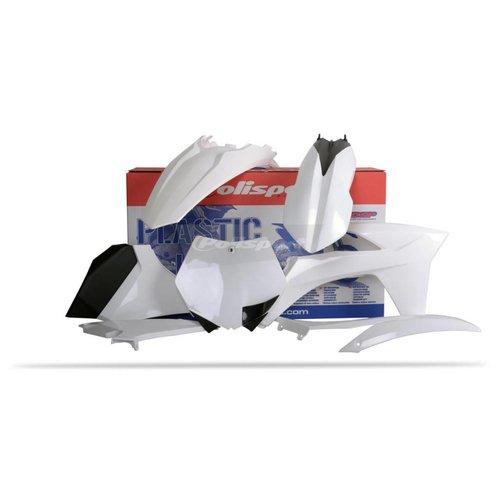 Polisport KTM SX125/144/150 12 Witte Plastic Kit
