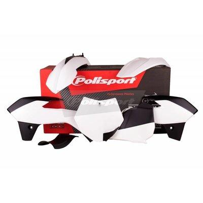 Polisport KTM SX85 13-17 Witte Plastic Kit