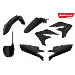 Yamaha YZ450F 18 Zwarte Plastic Kit