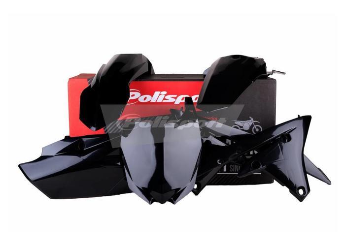 Polisport Yamaha YZ450F 14-17 Zwarte Plastic Kit