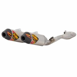 Honda CRF450R (2015-2016) FACTORY 4.1 RCT EXHAUST SYSTEMS / aluminum dampers / carbon fiber end caps / stainless steel MegaBomb header