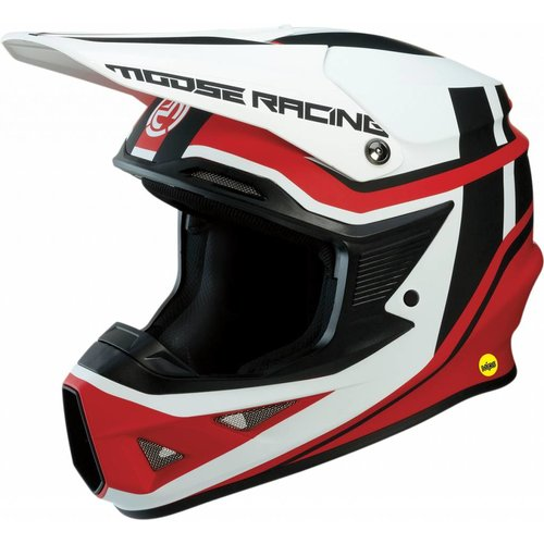 Moose Racing F.I. SESSION Red/White 2019