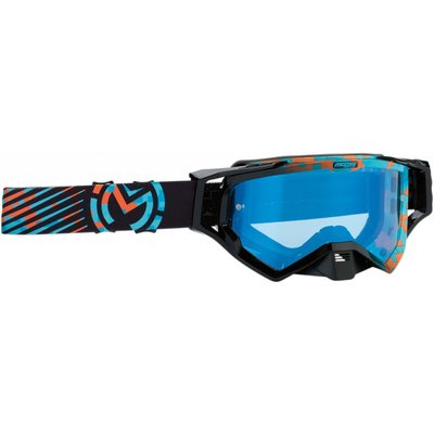 Moose Racing XCR Camo Blue/Orange 2019