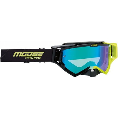 Moose Racing XCR Hatch Black/Green 2019