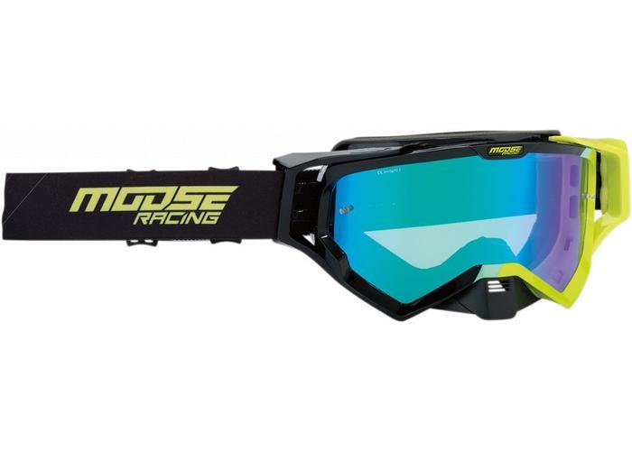 Moose Racing XCR Hatch Black/Green 2019