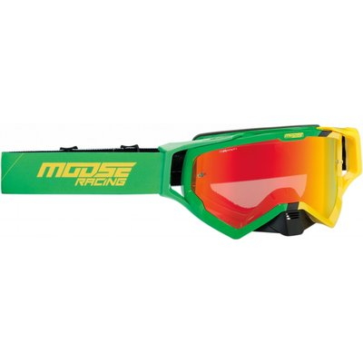 Moose Racing XCR Hatch Green/ Yellow 2019