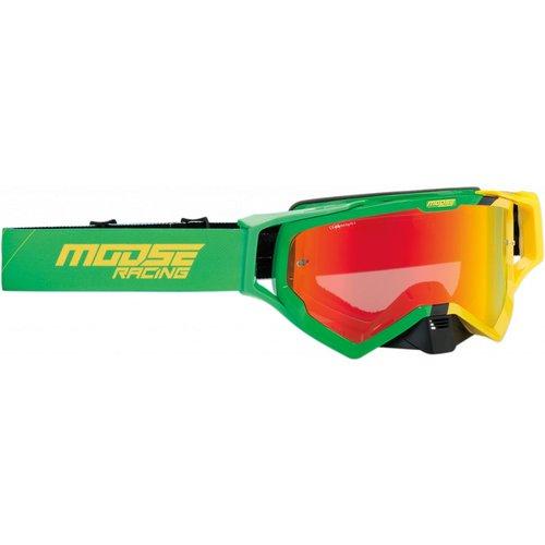 Moose Racing XCR Hatch Green/ Yellow 2019