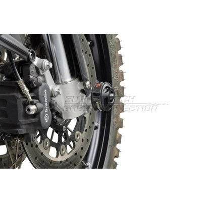 SW-Motech Sliding set protection front axle for YAMAHA