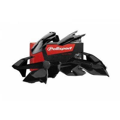 Polisport KTM EXC / EXC-F 17-18 Black Plastic Kit