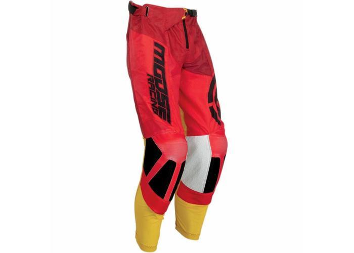 Moose Racing M1 ™ S19 OFFROADBROEK ROOD / GEEL