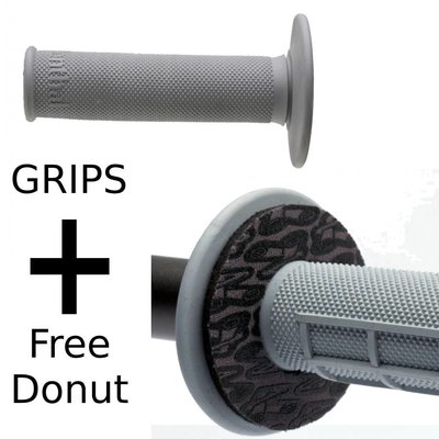 Renthal Grips Full Diamond Medium + Free Donutz
