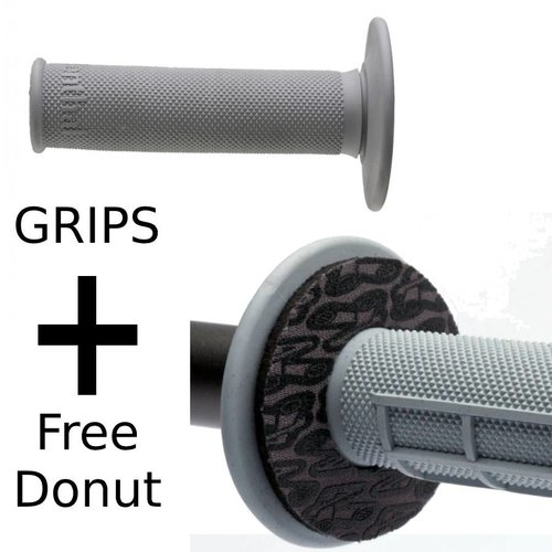 Renthal Grips Full Diamond Medium + Free Donutz