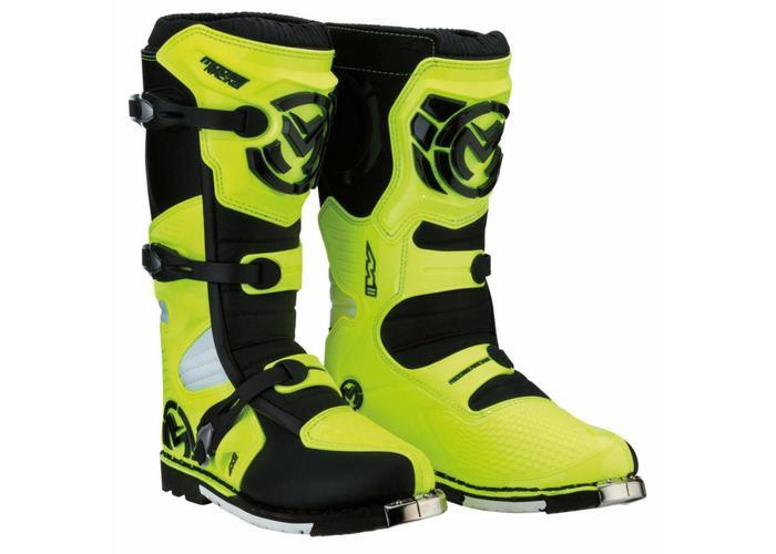 Moose Racing M1.3 Boot HI-VIZ GEEL / ZWART