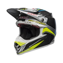Moto-9 Flex Helmet Pro Circuit Replica 19 Gloss Black / Green