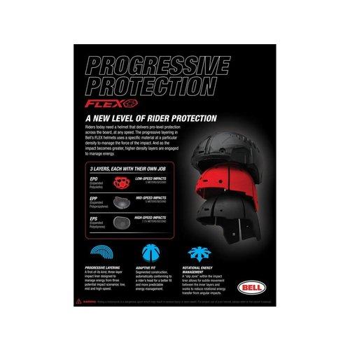 Bell Moto-9 Flex Helmet Pro Circuit Replica 19 Gloss Zwart/Groen