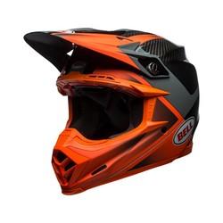 Moto-9 Flex Gloss / Matte Orange / Charcoal Hound