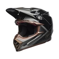 Moto-9 Flex Hound Matte/Gloss Zwart/Brons