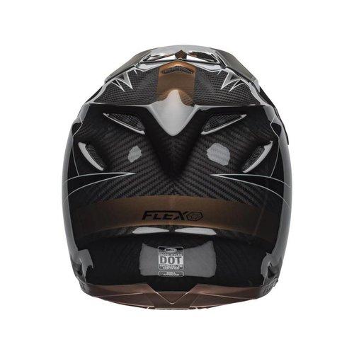 Bell Moto-9 Flex Hound Matte / Gloss Black / Bronze