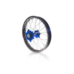 Hintenrad 19 x 1.85 RM-Z250 07-18 Blau/Schwarz