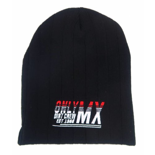 "MCU Beanie ""OnlyMX Dirtcrew"" Zwart"