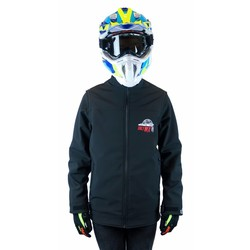"Enduro Softshell Jacket ""OnlyMX"" Black"